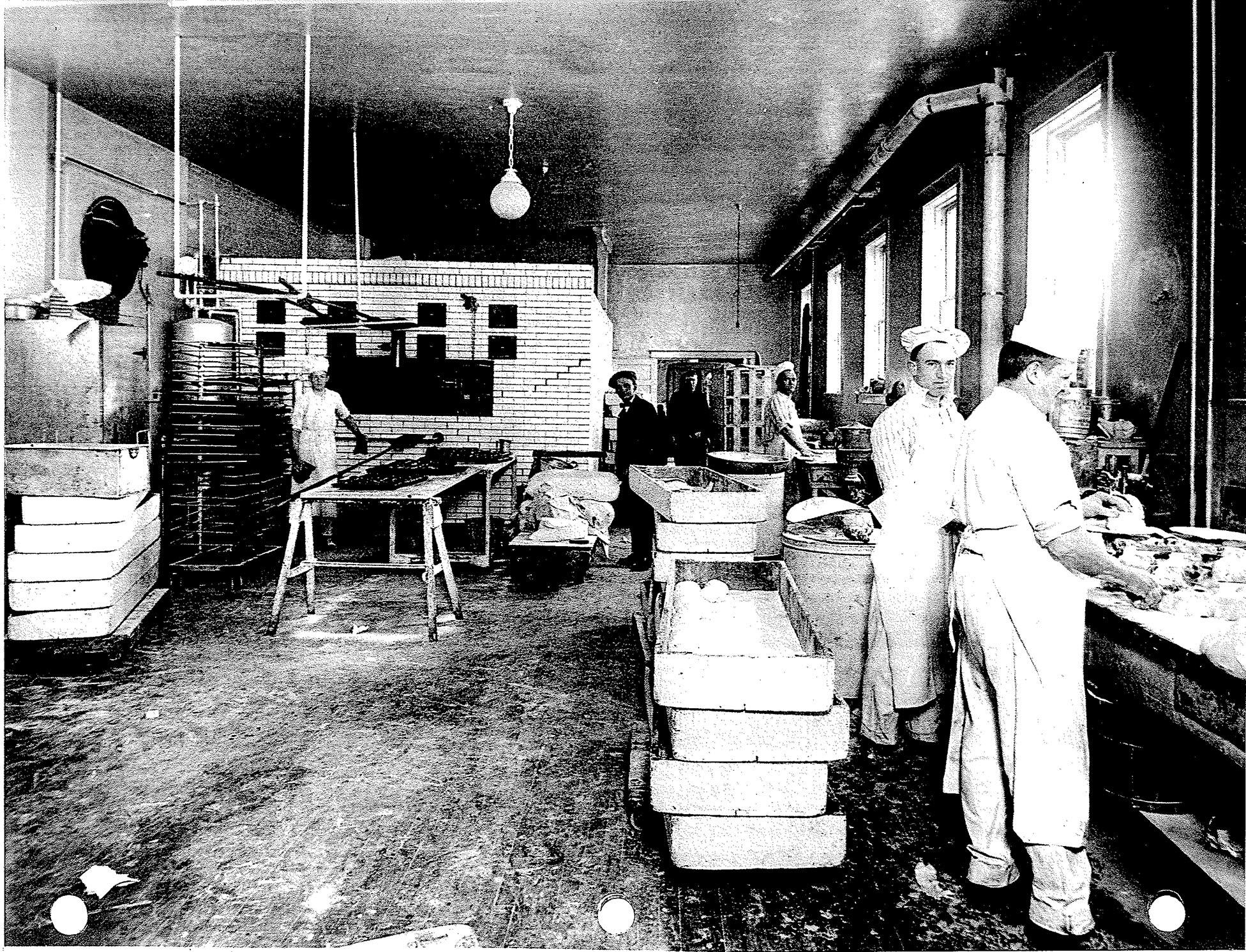 history 1966 Ford Unibody Truck busy workers at the new bakery ca 1917 from left tony janezich sam lagges tony kozar javo radakovich john maurine and august bratulich