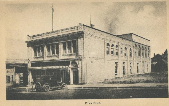 The Eveleth Elks Lodge building, circa 1925. Submitted photo.