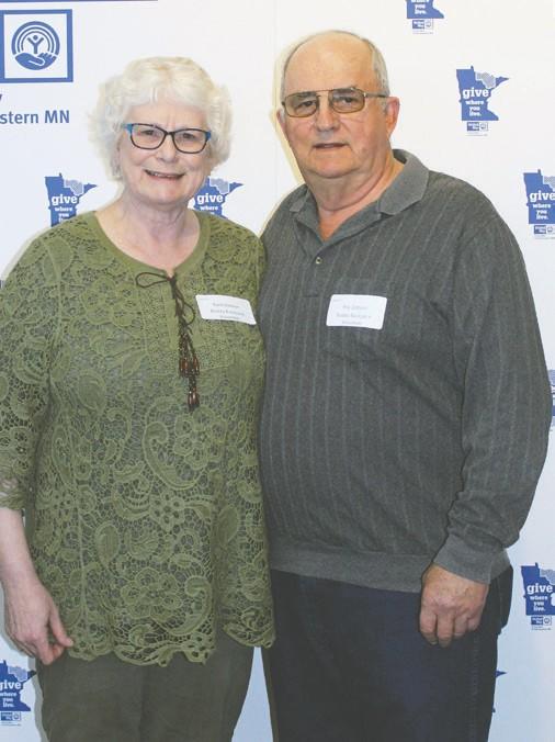 Barb and Roy Dobson Lifesaver Award winners