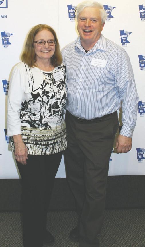 Debbie and Ray Erspamer Lifesaver Award winners