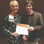 Zachary Asbach was a winner at the Award of Excellence competition in Minneapolis. Submitted photo.