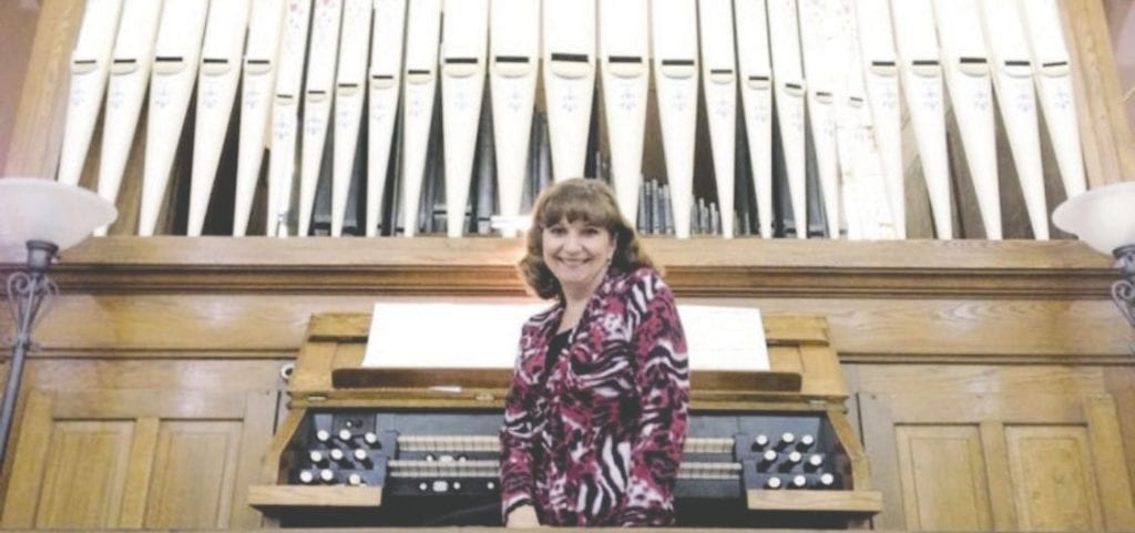 Vicki Gornick, an Organs in Revue founder and member of the Arrowhead Chapter of the American Guild of Organists. Submitted photo.