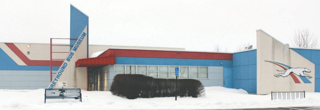 The Greyhound Bus Museum in Hibbing. Photos by Mia Lawson and Dana Sanders.