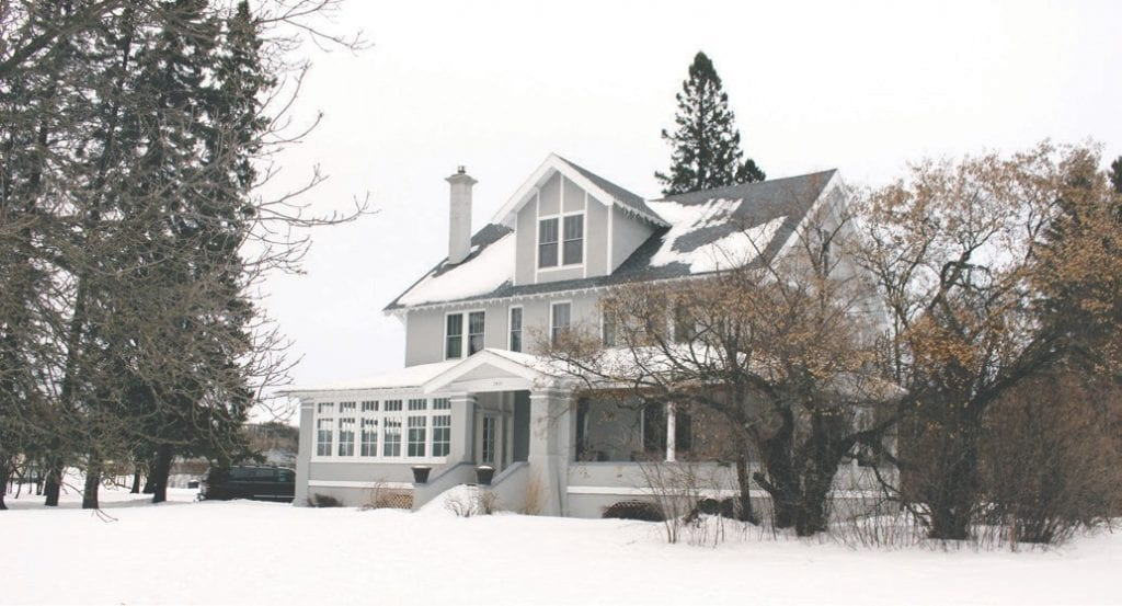 The A.P. Silliman house in Brooklyn location in Hibbing.