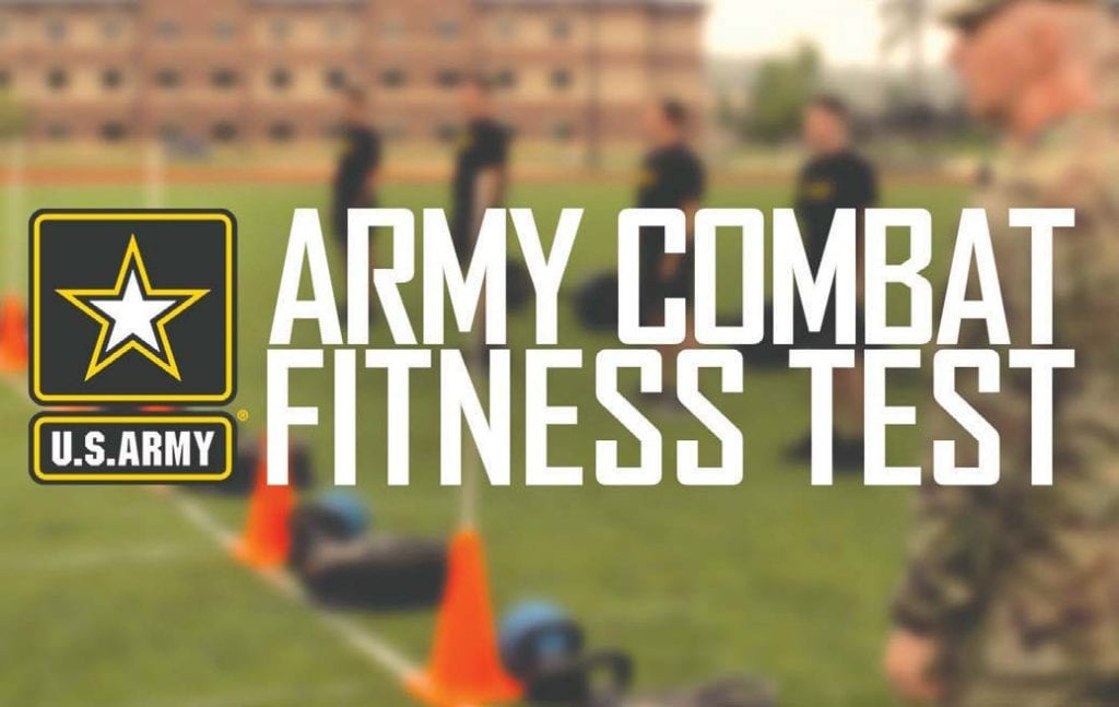 """Secretary of the Army Mark T. Esper said the Army is implementing a new physical fitness test—the Army Combat Fitness Test or ACFT—""""because we need soldiers who are deployable, lethal and ready."""" The test is designed to replace the Army Physical Fitness Test with a gender- and age-neutral assessment that will more closely align with the physical demands soldiers will face in combat. Field tests for the ACFT will begin in October 2018, and by October 2020, all active Army, National Guard and Reserve soldiers will be required to take the test. Courtesy graphic, media.defense.gov."""