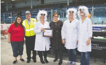 Spirit Award runner-up: DSGW, Inc. Mad Scientists