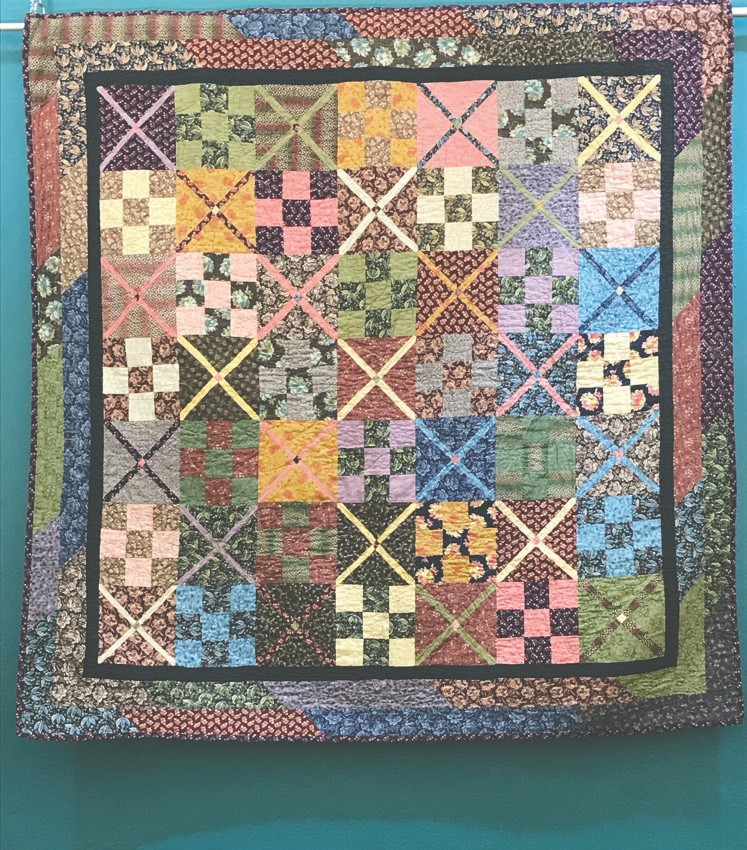 Karen Lamppa's quilt is inspired by quilts from the Civil War era. Submitted photo.
