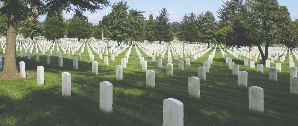 """The impressive landscape at Arlington National Cemetery serves as a tribute to the service and sacrifice of every individual laid to rest within its hallowed grounds, the cemetery's website says. """"Service to country is the common thread that binds all who are remembered and honored at Arlington."""" Learn more at www.arlingtoncemetery.mil. Submitted photos."""