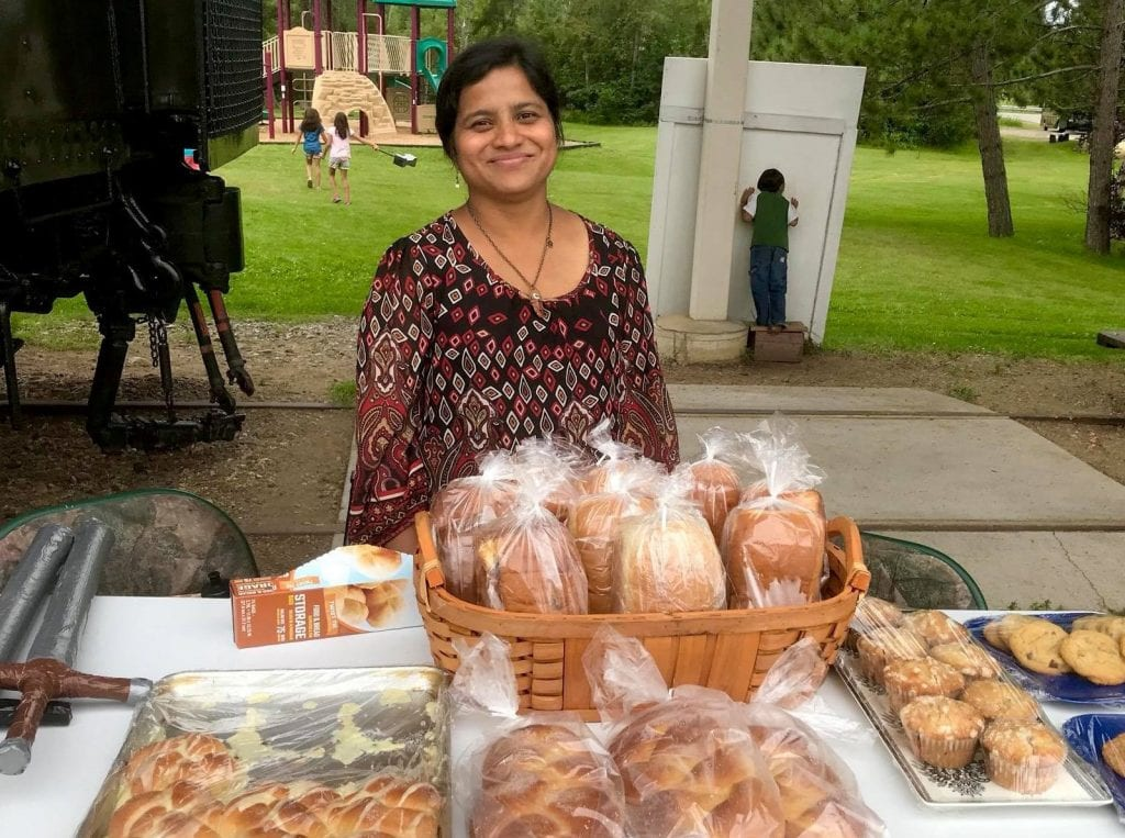Ann Alaspa, owner of Grateful Hearts Family Kitchen, can be found at the Tower Farmer's Market in the summer.
