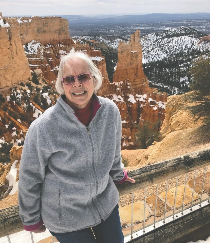 """Betty Pond is pictured at Bryce Canyon National Park in Utah. """"Hoodoos (irregular columns of rock) exist on every continent, but here is the largest concentration found anywhere on Earth."""" —www.nps.gov"""