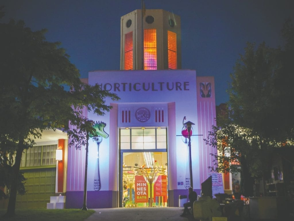 The Agriculture Horticulture Building, one of the most iconic buildings at the State Fairgrounds, is home to a variety of new competitions, demonstrations and displays—from flowers and food to craft beer and ag education.
