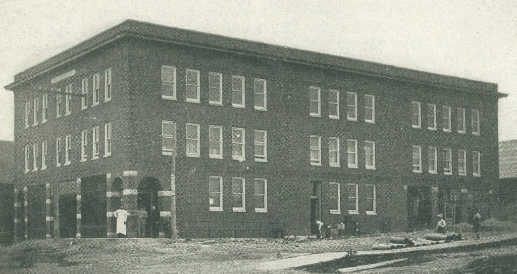 The Ollila Hotel in Nashwauk was completed in 1909 at a cost of $45,000.
