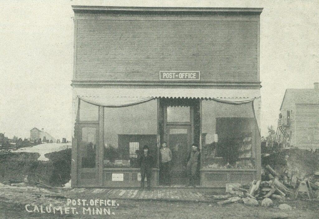 The Calumet post office.