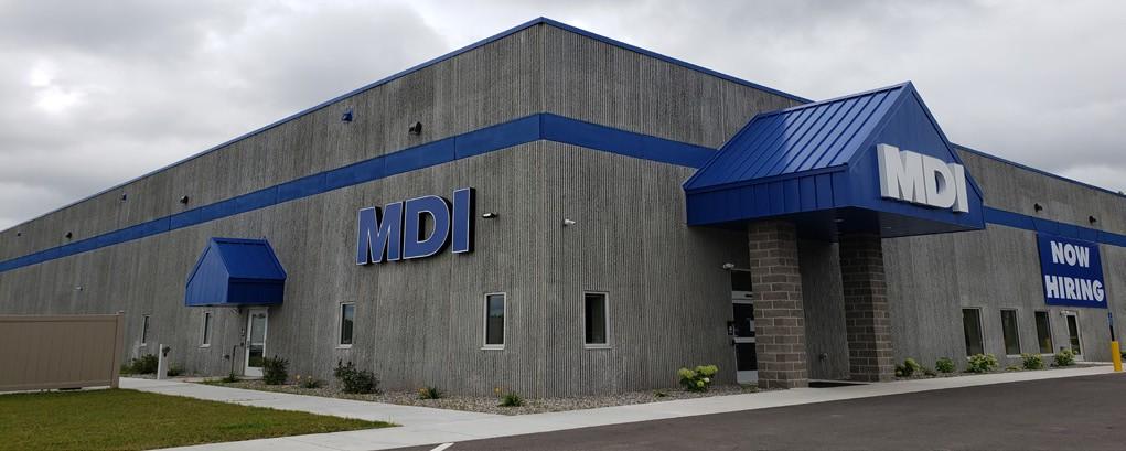 MDI's Hibbing facility is located at 11270 Hwy. 37. Photo by Cindy Kujala.