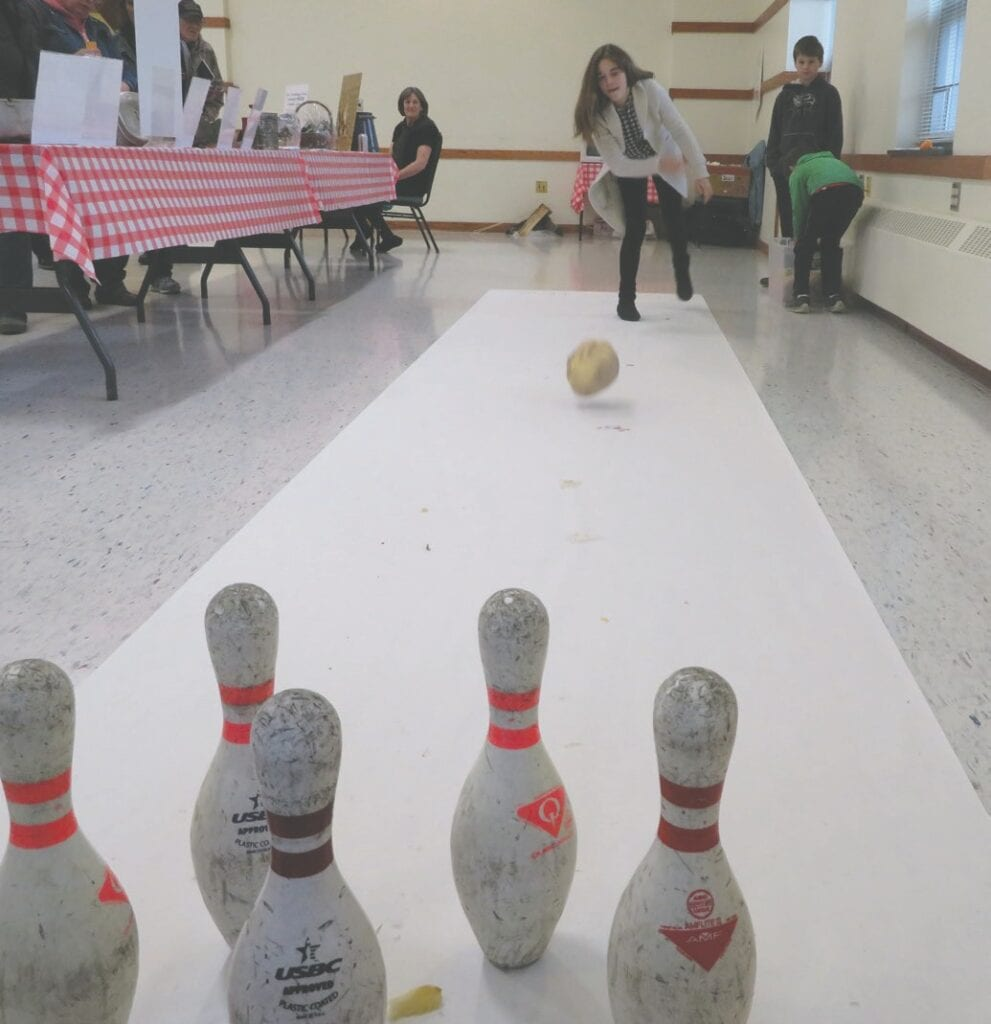 Last year's Iron Range Pasty Festival included rutabaga bowling. Submitted photos.