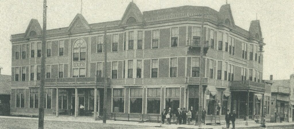 The Pokegama Hotel in Grand Rapids was built in 1894 by D. M. Gunn.