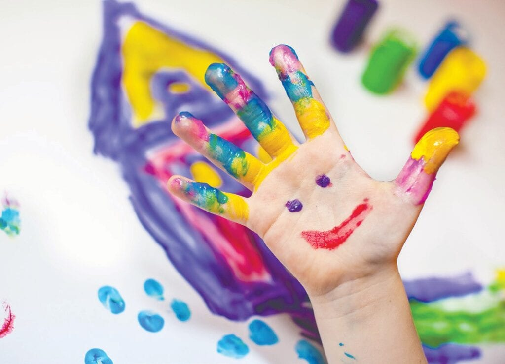 Creative experiences can help children express themselves and cope with their feelings.