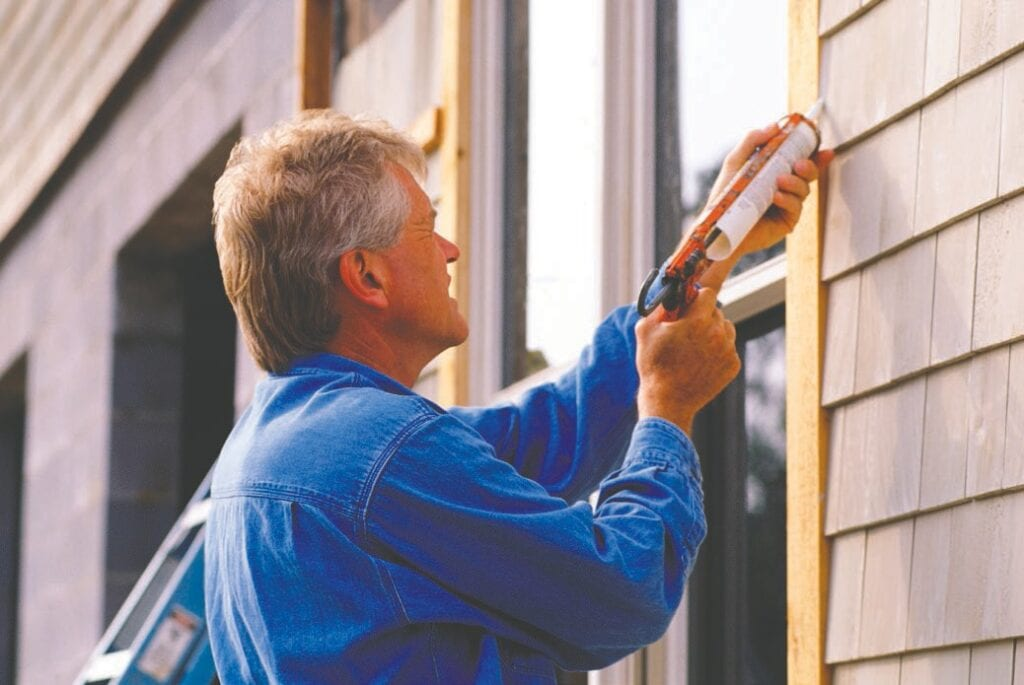 Household projects decrease sitting time and increase moving time. Use good judgment when climbing ladders, changing lightbulbs in stairways and high ceilings, standing on dining room chairs to clean, and carrying heavy objects up and down stairs. Don't be afraid to ask for help.