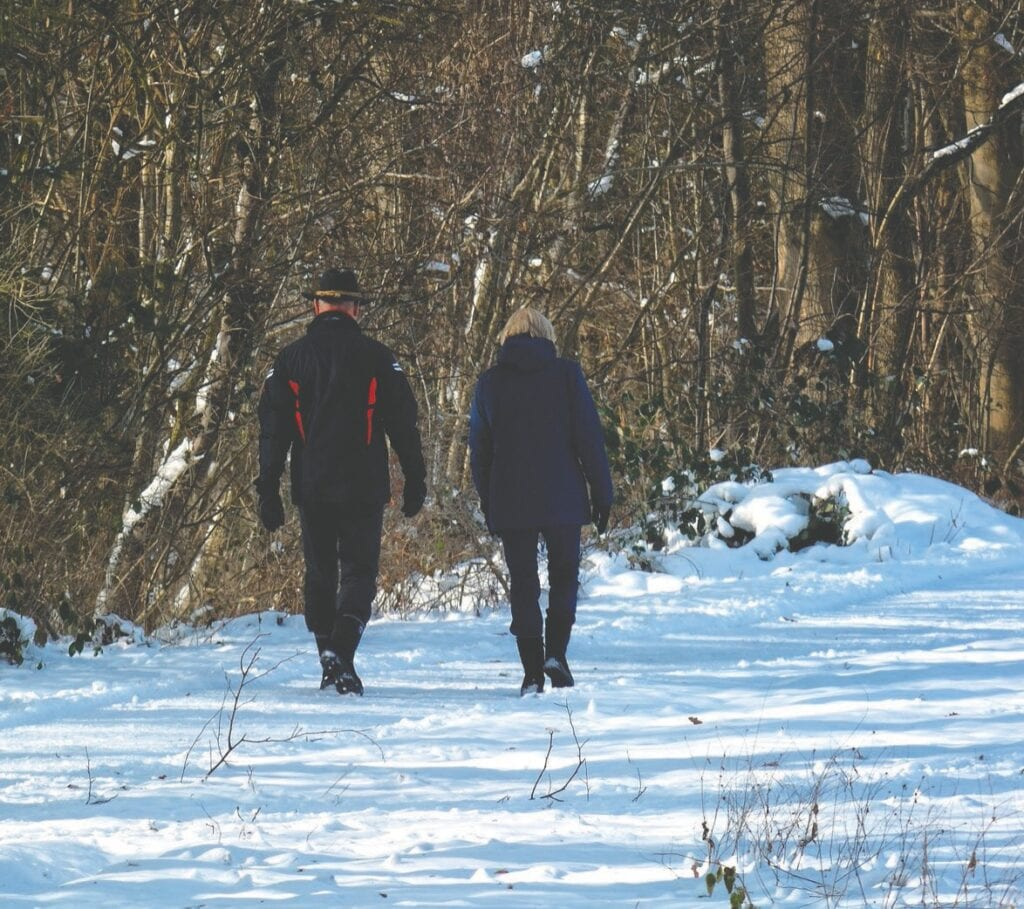 When you go for a walk this winter, make sure you dress in layers and walk in groups when you can. Staying active is important all year, and Ann Bussey says Range cities should do what they can to accommodate age-friendly winters.
