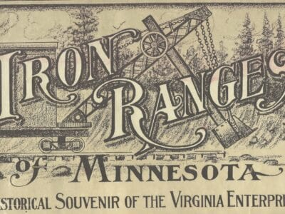 Iron Range newspapers in 1909