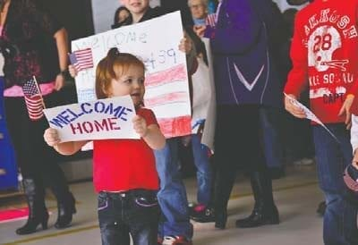 Minnesotans celebrate Month of the Military Child