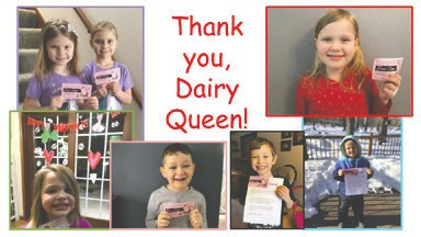 Thank you, Dairy Queen!