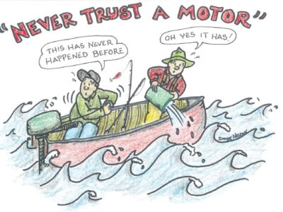 A tale of mechanical mishaps on the lake and on the road
