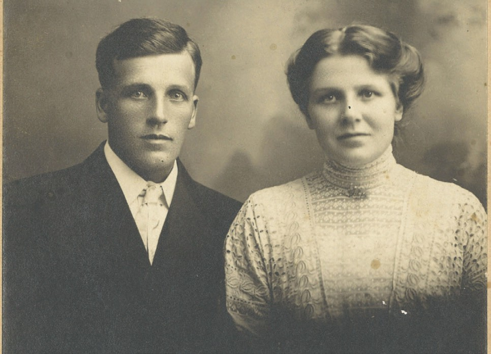 Abel Pearson and Klara Erickson were married June 29, 1911, in Virginia. The couple lived in a new home Abel built on the Pearson homestead near Cook. Submitted photos.