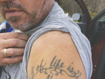 """Half of life is """"if,"""" don't die wondering"""