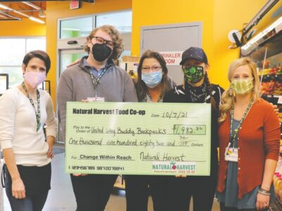 Co-op shoppers donate to Buddy Backpacks
